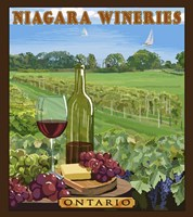 Niagara Wineries Fine Art Print