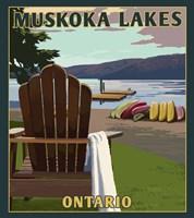 Muskoka Lakes Fine Art Print