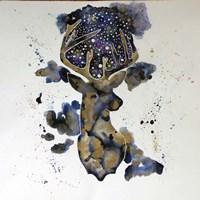 Starry Night Deer Fine Art Print