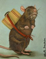 Pack Rat Fine Art Print