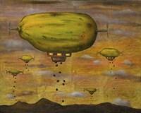 Papaya Sunset Fine Art Print