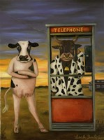 Cattle Call Fine Art Print