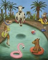 Cowabunga Fine Art Print