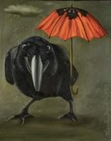Ravens Rain 2 Fine Art Print