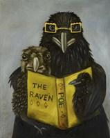 Ravens Read Fine Art Print