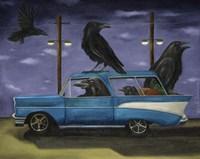 Ravens Ride Fine Art Print