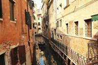 Delivery in Venice Fine Art Print