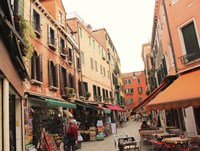 Market in Venice Fine Art Print