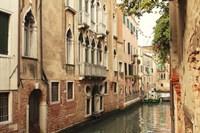 Venice Waterway Fine Art Print
