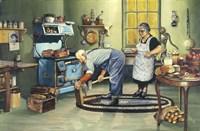 The Woodchopper Fine Art Print