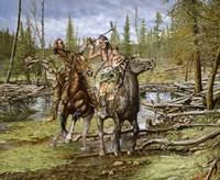Mountain Man's Rejection Fine Art Print