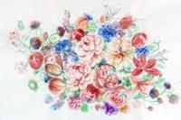 Floral Arrangement VI Fine Art Print