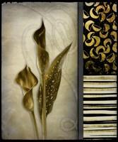 Gold Lily 1 Fine Art Print