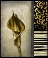 Gold Lily 2 Fine Art Print