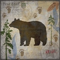 Bear Lodge Fine Art Print