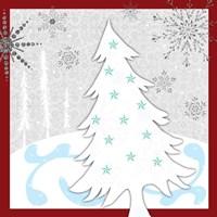 Christmas Snowman 2 Fine Art Print