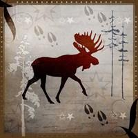 Moose Tracks Fine Art Print