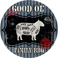Good Ol' Family BBQ Round 2 Fine Art Print