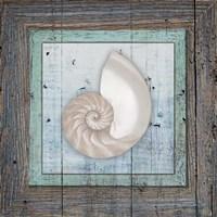 Framed Gypsy Sea V1 3 Fine Art Print