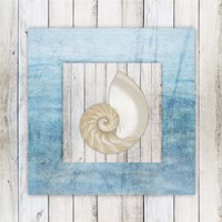 Framed Gypsy Sea V3 3 Fine Art Print