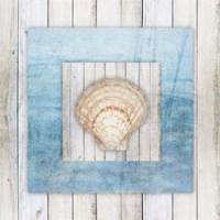 Framed Gypsy Sea V3 4 Framed Print