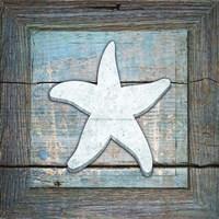Gypsy Sea Blue Framed 3 Fine Art Print