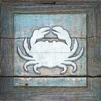 Gypsy Sea Blue Framed 4 Framed Print