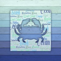 Gypsy Sea Blue V5 3 Framed Print