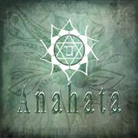 Chakras Yoga Anahata V1 Fine Art Print