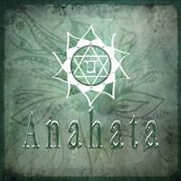 Chakras Yoga Anahata V2 Fine Art Print