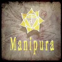 Chakras Yoga Manipura V2 Framed Print