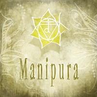 Chakras Yoga Manipura V4 Fine Art Print