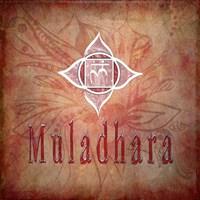 Chakras Yoga Muladhara V1 Fine Art Print