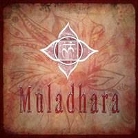 Chakras Yoga Muladhara V2 Framed Print