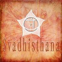 Chakras Yoga Svadhisthana V1 Fine Art Print