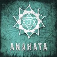 Chakras Yoga Symbol Anahata Fine Art Print