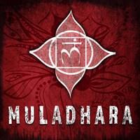 Chakras Yoga Symbol Muladhara Fine Art Print