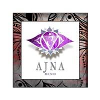 Chakras Yoga Framed AJNA V2 Fine Art Print