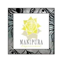 Chakras Yoga Framed Manipura V3 Fine Art Print