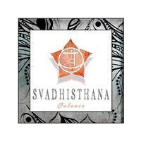 Chakras Yoga Framed Svadhisthana V3 Fine Art Print