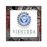 Chakras Yoga Framed Vishudda V2 Fine Art Print
