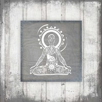 Gypsy Yoga V1 3 Fine Art Print