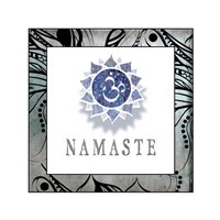 Namaste Symbol 4-1 Fine Art Print