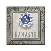 Namaste Symbol 7-1 Fine Art Print