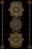 Gold Medalions Fine Art Print