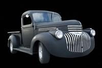 Grey Chevy Pickup Truck Fine Art Print