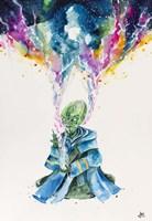 Alien Dabbing Fine Art Print