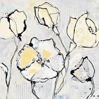 16 Again III with Yellow Fine Art Print