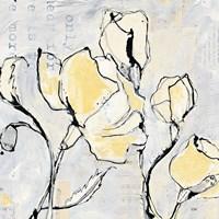 16 Again II with Yellow Fine Art Print