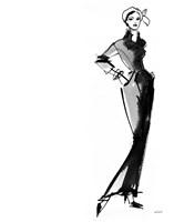 Fifties Fashion III Fine Art Print